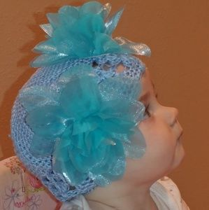 Other - 2/$12 mix colors,Adorable blue baby/toddler hat